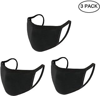 Yoodelife Anti-dust Black Mouth Mask, Unisex Cotton Face Mask Muffle Mask Anime Mask for..