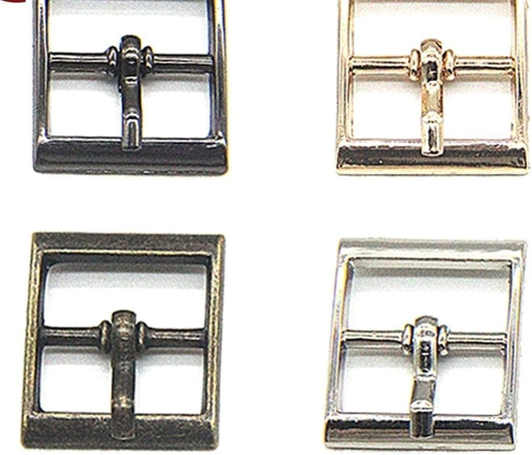 Roller design 20 Batch 16mm Max 78% OFF Gold Luxury goods Metal Bu Square Bag Belt Shoe