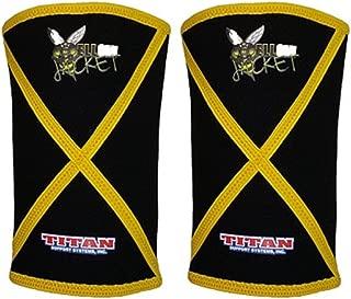 titan yellow jacket knee sleeves
