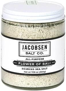 Jacobsen Salt Co, Flower of Bali Sea Salt, 7oz Jar