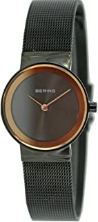 BERING Time 10126-226 Women Classic Collection Watch with Stainless-Steel Strap and Scratch Resistent Sapphire Crystal. Designed in Denmark