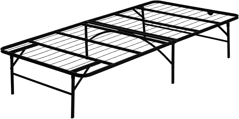 Furinno Furinno FB001T Angeland Mattress Foundation Platform Metal Bed Frame, Twin