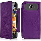 Seluxion-Universal Large Flip Case Purple for Archos 50