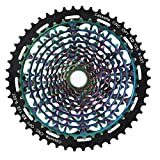 Fahrradumwerfer Riemenscheibe Fahrradkettenring Hochwertige, langlebige Fahrradzahnscheibe für Rennrad für Mountainbike-Rennrad(12 Speed 9-50T)