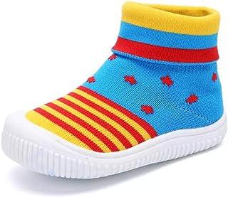YUHUAWYH Beb/é Muchachos Chicas Calzado antideslizante Calcetines Zapatos para ni/ños peque/ños Caminante Calcetines para ni/ños de 0-6 meses a 4-5 a/ños