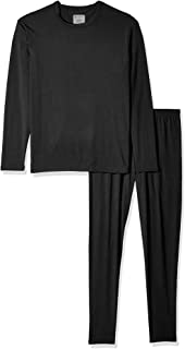 9M Men's Ultra Soft Thermal Underwear Base Layer Long Johns Set with Fleece Lined