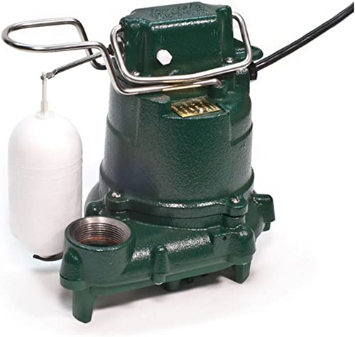 discount Zoeller 53-0016 115-Volt 0.3 Horse new arrival Power Model M53 Mighty-Mate Automatic Cast Iron Single Phase outlet sale Submersible Sump/Effluent Pump online