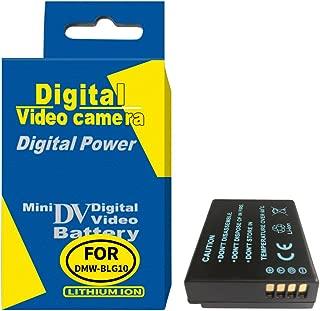 RUISI 1025mAh Rechagerable Battery for Panasonic DMW-BLG10 DMC-GX80,DMC-GX85,DMC-ZS60,DMC-ZS100,DMC-GF6,DMC-GX7K,DMC-LX100K