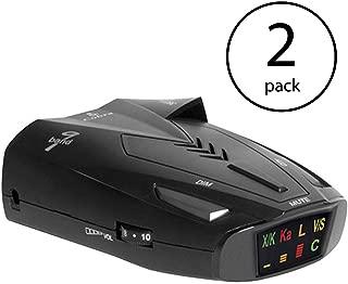 Cobra 9 Band Laser Police Radar Detector with Safety Alert & LaserEye | ESD9275 (2 Pack)