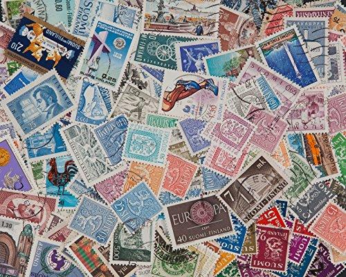 Goldhahn 200 Briefmarken Finnland Briefmarken für Sammler