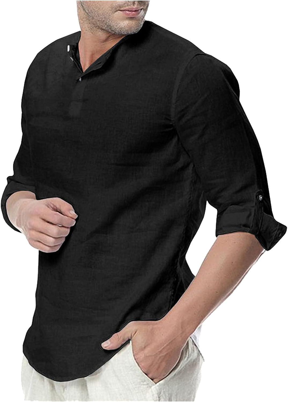 Mens Casual Polo Shirt Short Sleeve Button Down Slim-fit Summer Solid Tees Classic Basic Pajama Undershirt Yoga Shirt