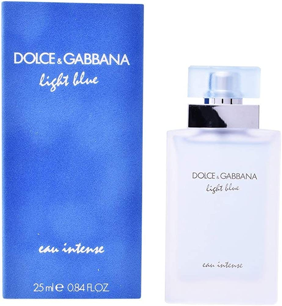 Dolce&gabbana light blue intense eau de parfum spray - 25 ml donna DEG00283