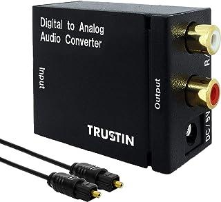 光デジタルからアナログへ変換 DAC D/A コンバーター デジタル 光 同軸 TDA-551