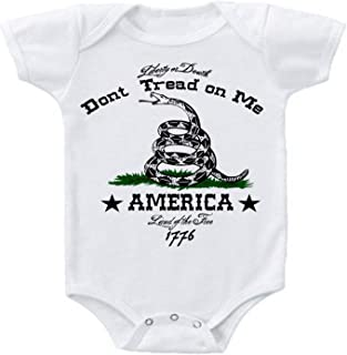 don t tread on me onesie