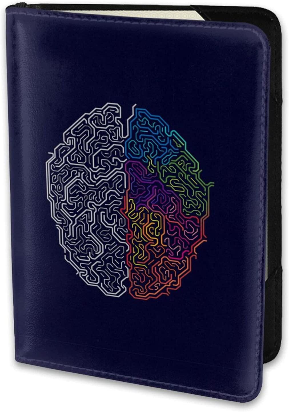 Colorful Maze Brain Function Pattern In 5.5 Leather Year-end annual account Industry No. 1 Lightweight