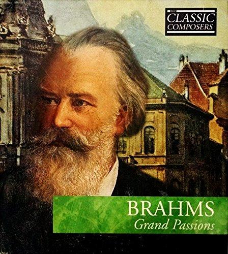 Classic Komponisten Brahms Grand Passions Hardcover und Audio-CD
