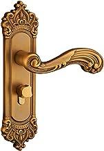 Slot Vintage Deurslot Stijl Retro Slaapkamer Deurgreep Lock Interieur Anti-diefstal Kamer Veiligheid Deurslot Aluminium Mu...