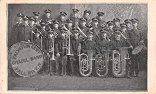 Fall River Salvation Army Citadel Band Vintage Postcard JI658499