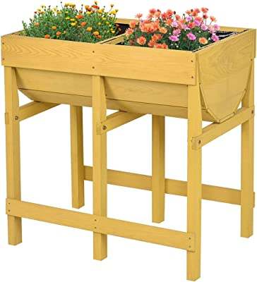 Elho Green Basics Grow Table XXL Crecimiento, Verde Hoja, 39.5x39 ...