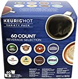 KEURIG 【キューリグ用 K-CUP KEURIG HOT バラエティー パック 12種類 / 60個入り】 【並行輸入商品】
