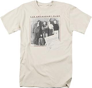 Trevco Breakfast Club Essay - Camiseta de manga corta para hombre (talla L), color crema