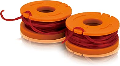 WORX WA0004 Replacement 10-Foot Grass Trimmer/Edger Spool Line (2-Pack)