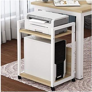 zlw-shop Support d'Imprimante Accueil imprimante Rack Bureau Multi-Couche étage Bureau hôte Support Support Amovible for C...