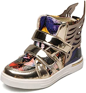 58c36a0de400 ROKIDS Kids High-Top Dazzling Wings Sneakers Printed Performance Shoes Boys  Girls
