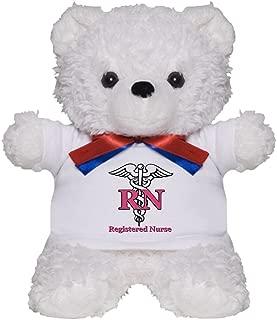 CafePress Registered Nurse Teddy Bear, Plush Stuffed Animal