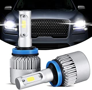 GTP H11 H8 H9 LED Headlight Bulbs All-in-One Low Beam Fog Light Conversion Kit CSP Chips 6000K Cool White 72W 8000LM