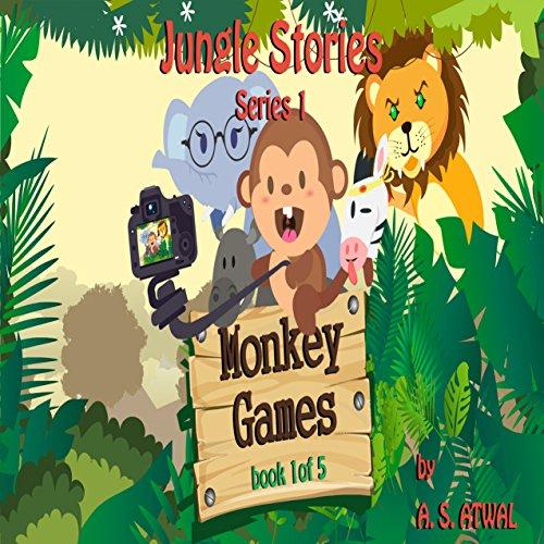 Monkey Games audiobook cover art