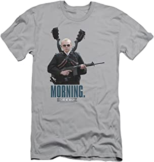 Hot Fuzz Crime Comedy Buddy Cop Movie Morning Adult Slim T-Shirt Tee