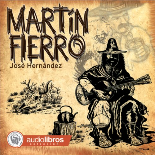 Martín Fierro audiobook cover art