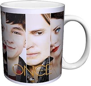 Once Upon a Time Main Cast Faces Close Up Fantasy Drama Fairy Tale TV Television Show Ceramic Gift Coffee (Tea, Cocoa) 11 Oz. Mug