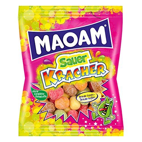 Haribo Maoam, Sauer Kracher, Peladillas, Bombones, En Bolsa, 175 g