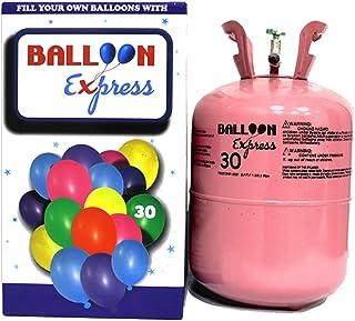 HELIUM BALLOON TANK: Disposable Helium Balloon Gas 13.4l Tank [Filled Locally in Singapore]