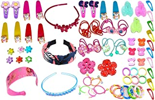aizelx Baby Hair Band; Style Tic Tac; Hair Clips; Pin; Elastics Ponytail Holder Hair Accessories for Girls with Gift Box; ...