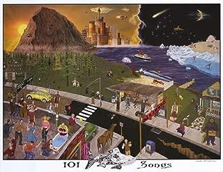 101 phish songs poster