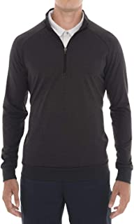 Mens Lightweight Dry Fit Pullover - Long Sleeve Half Zip Golf Jacket for Men