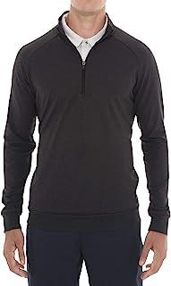 Sponsored Ad - Mens Lightweight Dry Fit Pullover - Long Sleeve Half Zip Golf Jacket for Men