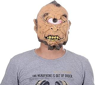 HUIMEIS AU Holy Week Latex Bar Dance Mask/Single Eye Horror Mask/Full Toy