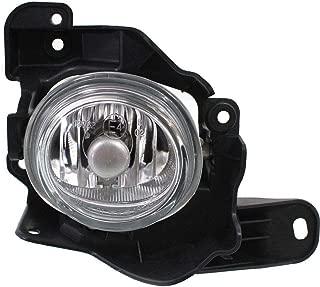 Clear Lens Fog Light For 2010-13 Mazda 3 RH Mazdaspeed CAPA Glass lens w/Bulb