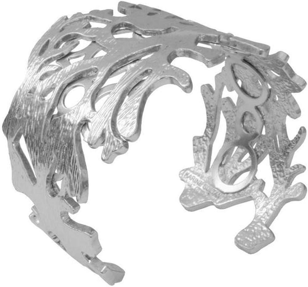 KARINE SULTAN Anais Brushed Cuff Bracelet