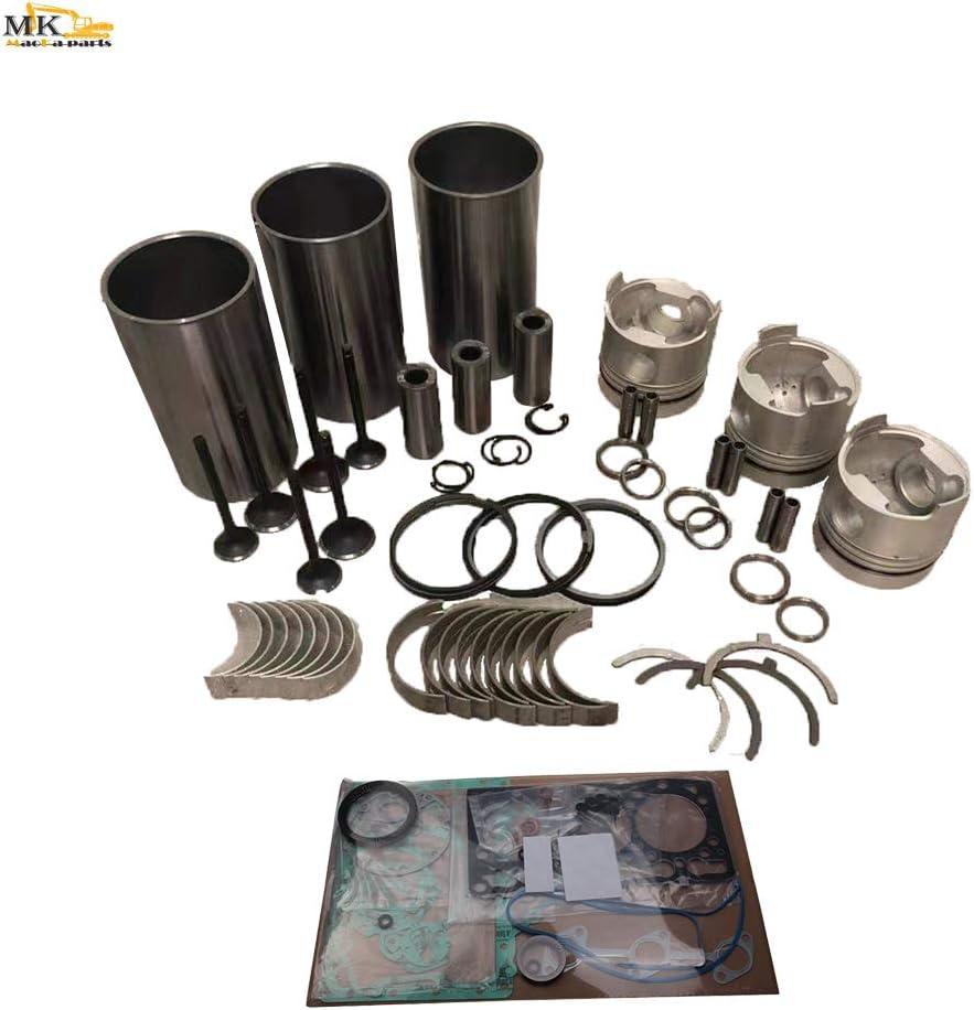 Overhaul Rebuild Kit for Isuzu ZTS Engine 3CB-SZS4 Limited time sale Diesel Outlet sale feature Excava