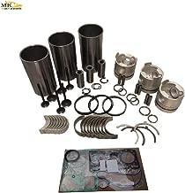 Overhaul Rebuild Kit For Yanmar Engine VIO40 B37-2B TB135 A7C Excavator