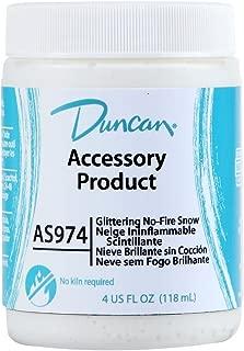 Duncan Glittering No Fire Snow - AS 974 - 4 Ounce Jar