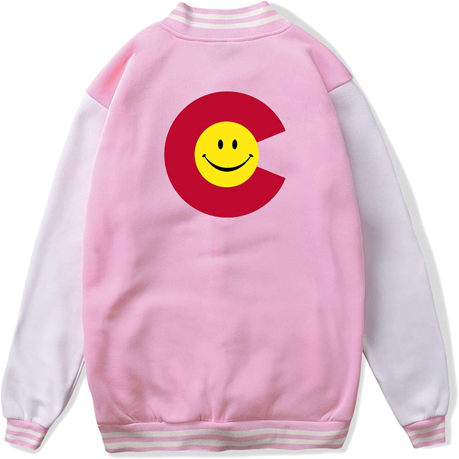 fc0778625fb colorado Flag Smiley Face Unisex Jacket Jacket Jacket Coat f6b5e6 ...
