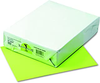 Kaleidoscope Multi-Purpose Paper, 8.5 x 11 Inches, Lime, 500 Sheets (102053)