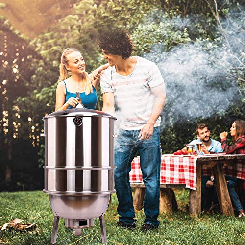 AAGYJ Freestanding Barbecues, Portable Barbecues BBQ Grills, Stainless...