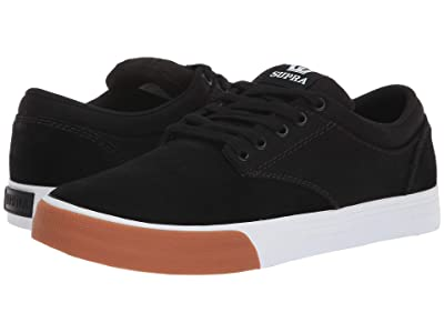Supra Chino (Black/White/Gum) Men